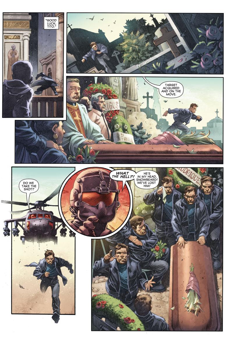 Harbinger Wars II #1, anteprima 02
