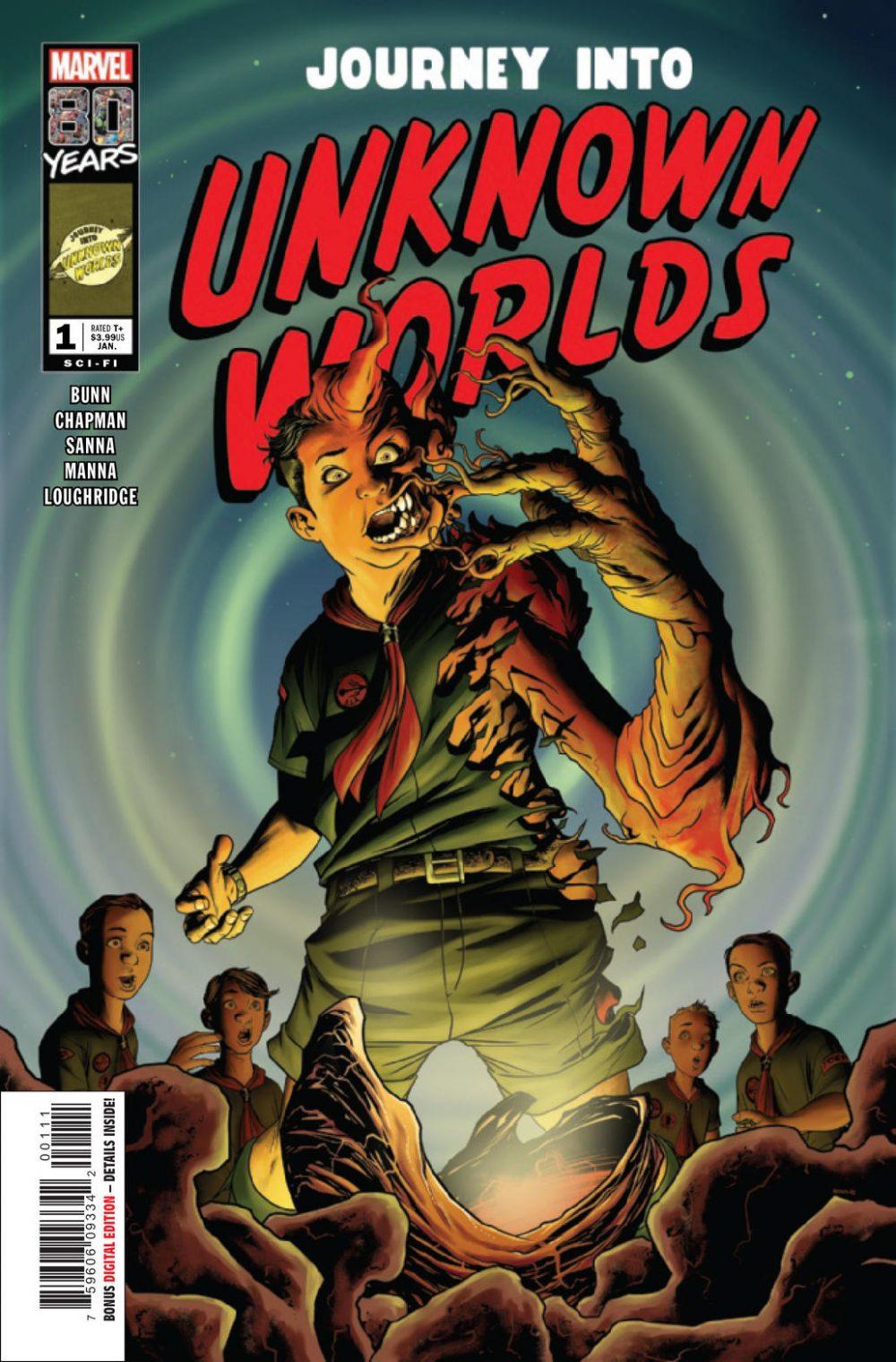 Journey into Unknown Worlds, copertina di Mike McKone