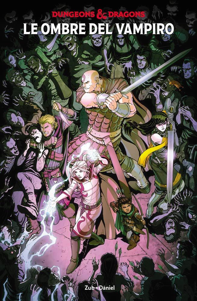 Dungeons & Dragons vol. 2: Le ombre del vampiro, copertina di Max Dunbar