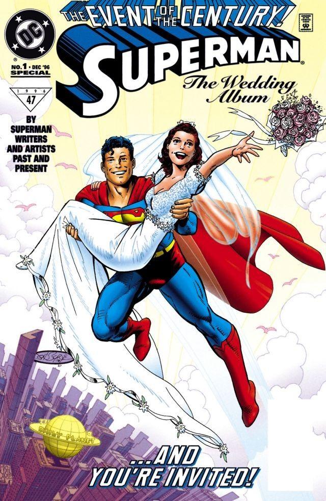 Superman: The Wedding Album, copertina di John Byrne