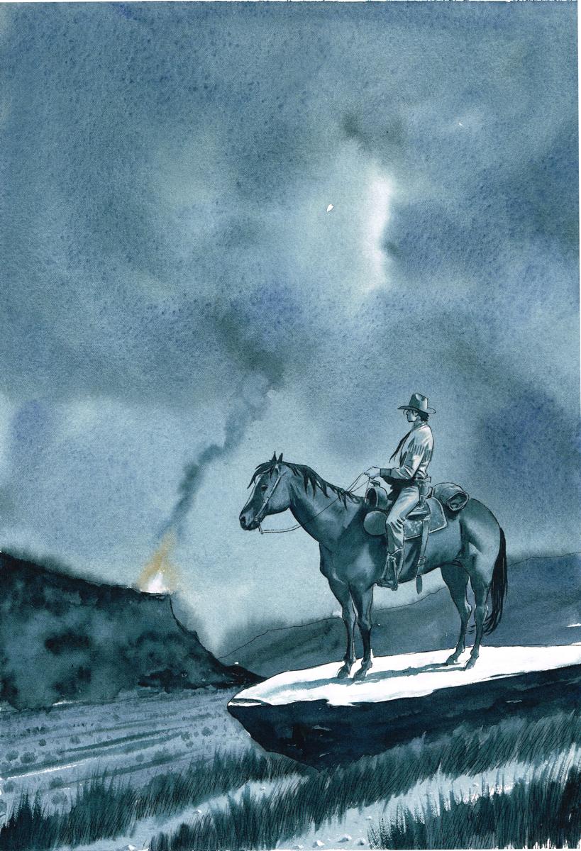 Tex Willer, illustrazione di Roberto De Angelis
