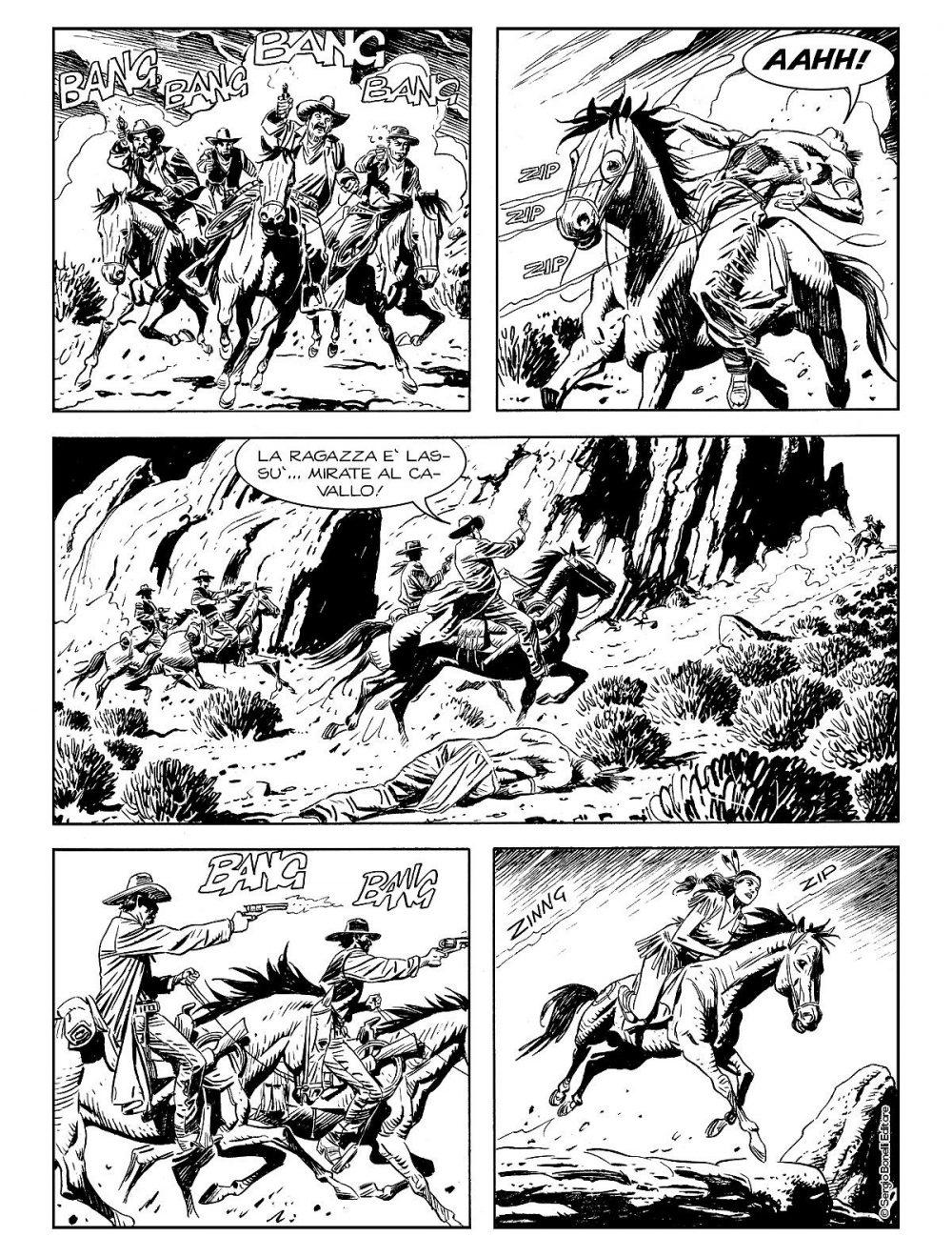 Tex Willer 2: La banda di Red Bill, anteprima 01