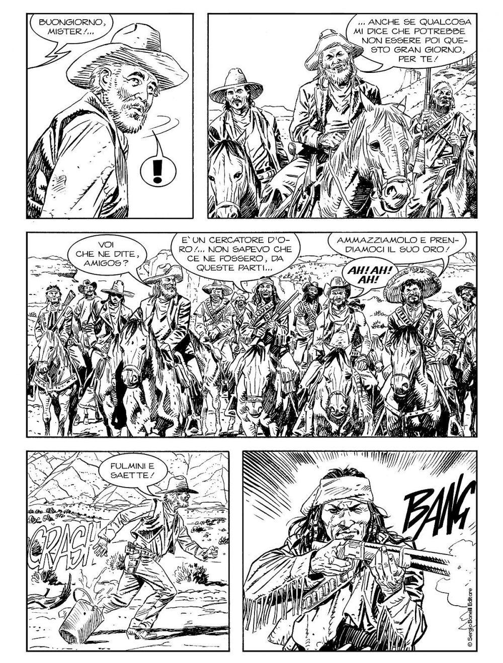 Tex Willer 2: La banda di Red Bill, anteprima 03