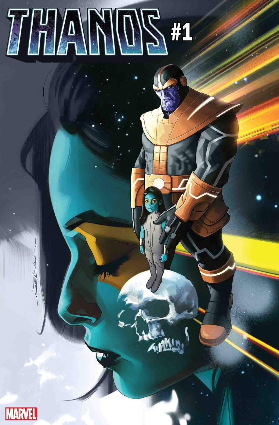 Thanos #1, copertina di Jeff Dekal