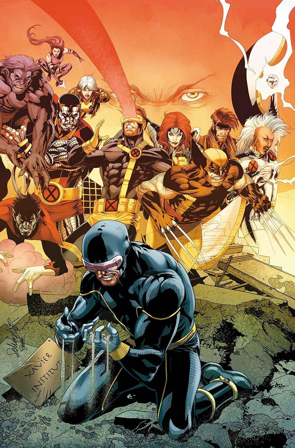 Uncanny X-Men #11, copertina di Salvador Larroca