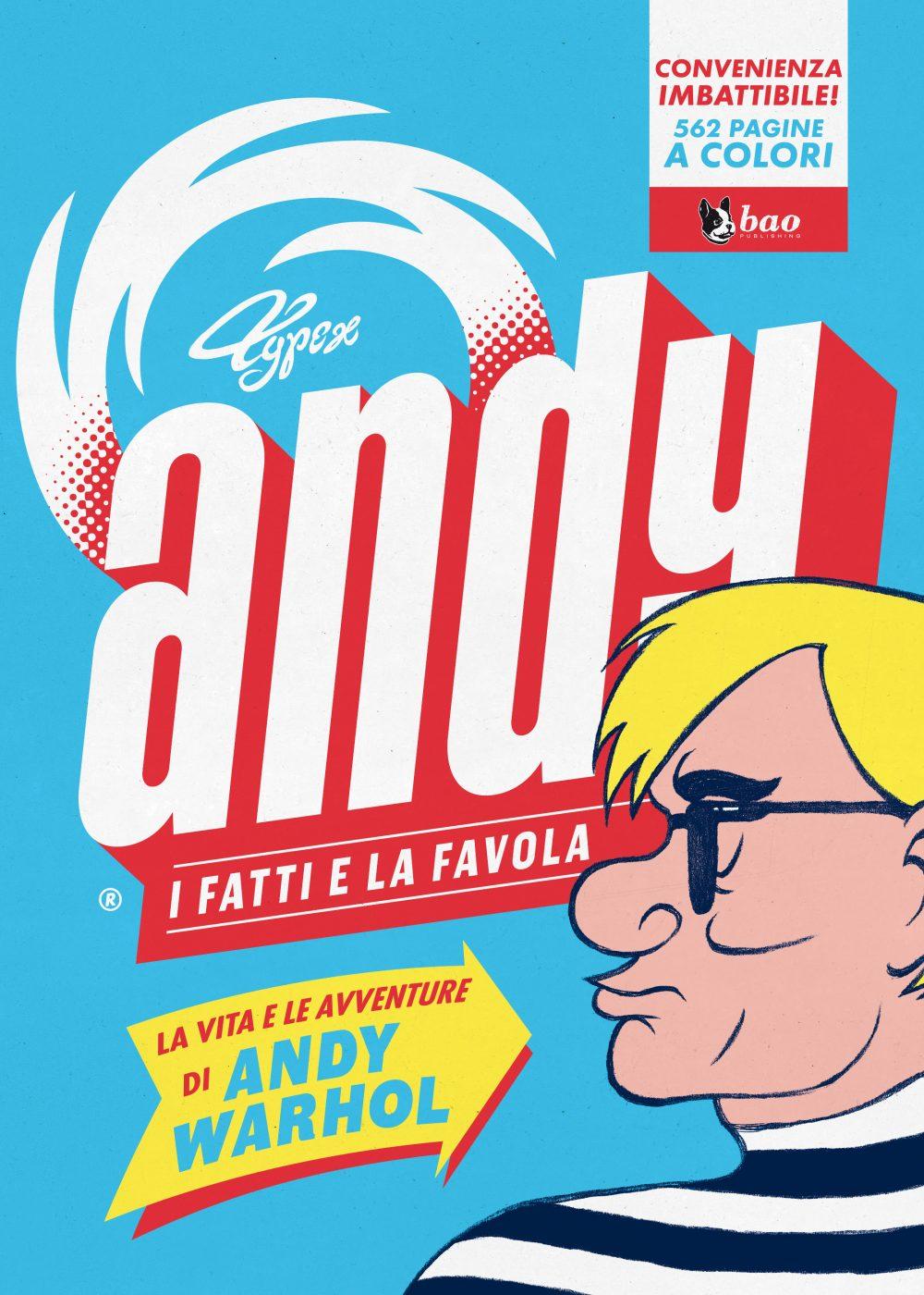 Andy - I fatti e la favola, copertina di Typex
