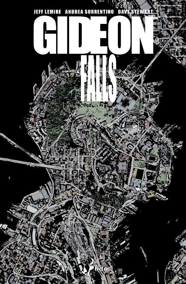 Gideon Falls vol. 1, copertina di Andrea Sorrentino