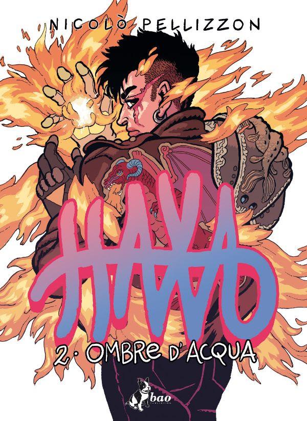 Haxa vol. 2: Ombre d'acqua, copertina di Nicolò Pellizzon