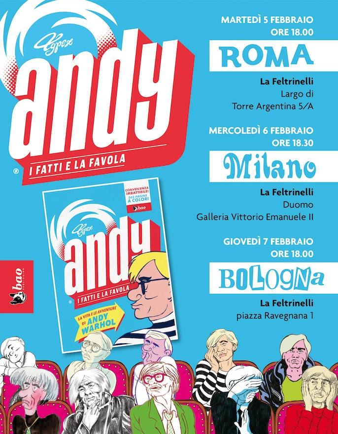 Andy, il tour italiano di BAO