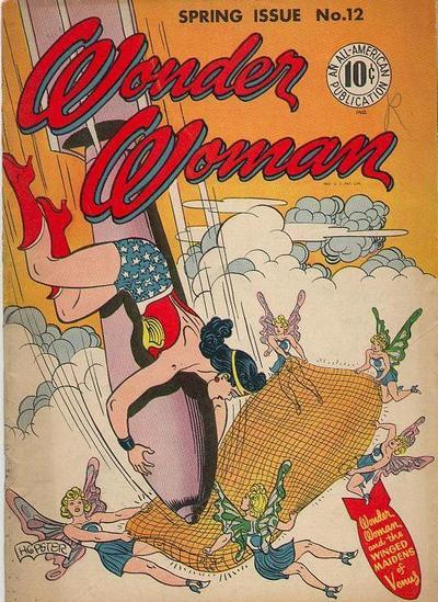 Wonder Woman #12, copertina di Harry G. Peter