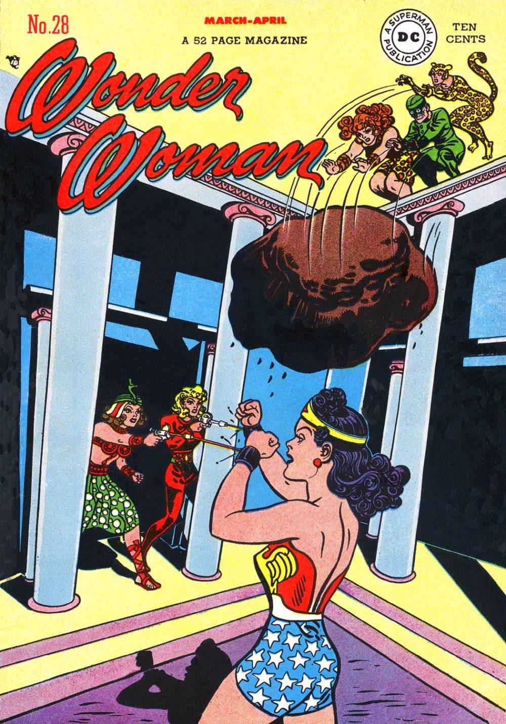 Wonder Woman #28, copertina di Harry G. Peter