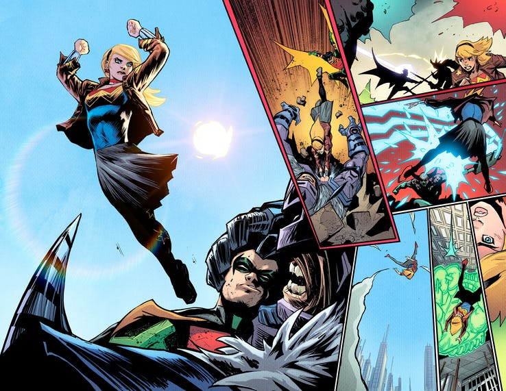 Young Justice #1, anteprima 02