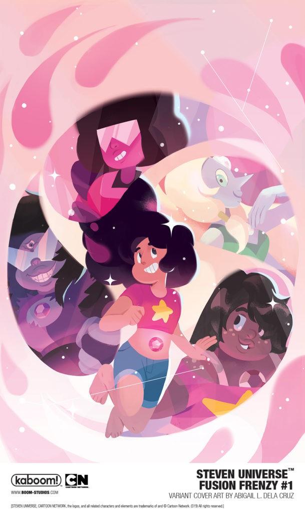 Steven Universe: Fusion Frenzy #1, variant cover di Abigail L. Dela Cruz