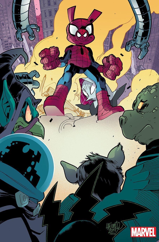 Amazing Spider-Man Annual (2019), copertina di David LaFuente