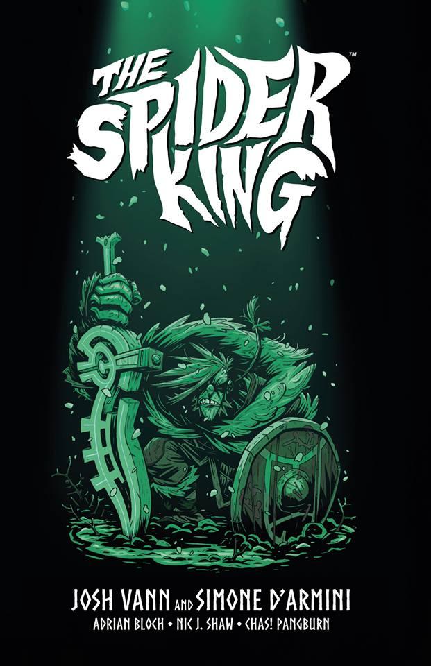 Spider King, copertina di Simone D'Armini
