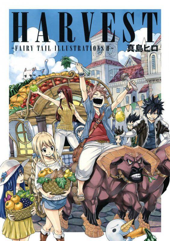 Harvest, copertina di Hiro Mashima