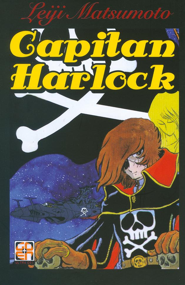 Capitan Harlock, copertina di Leiji Matsumoto