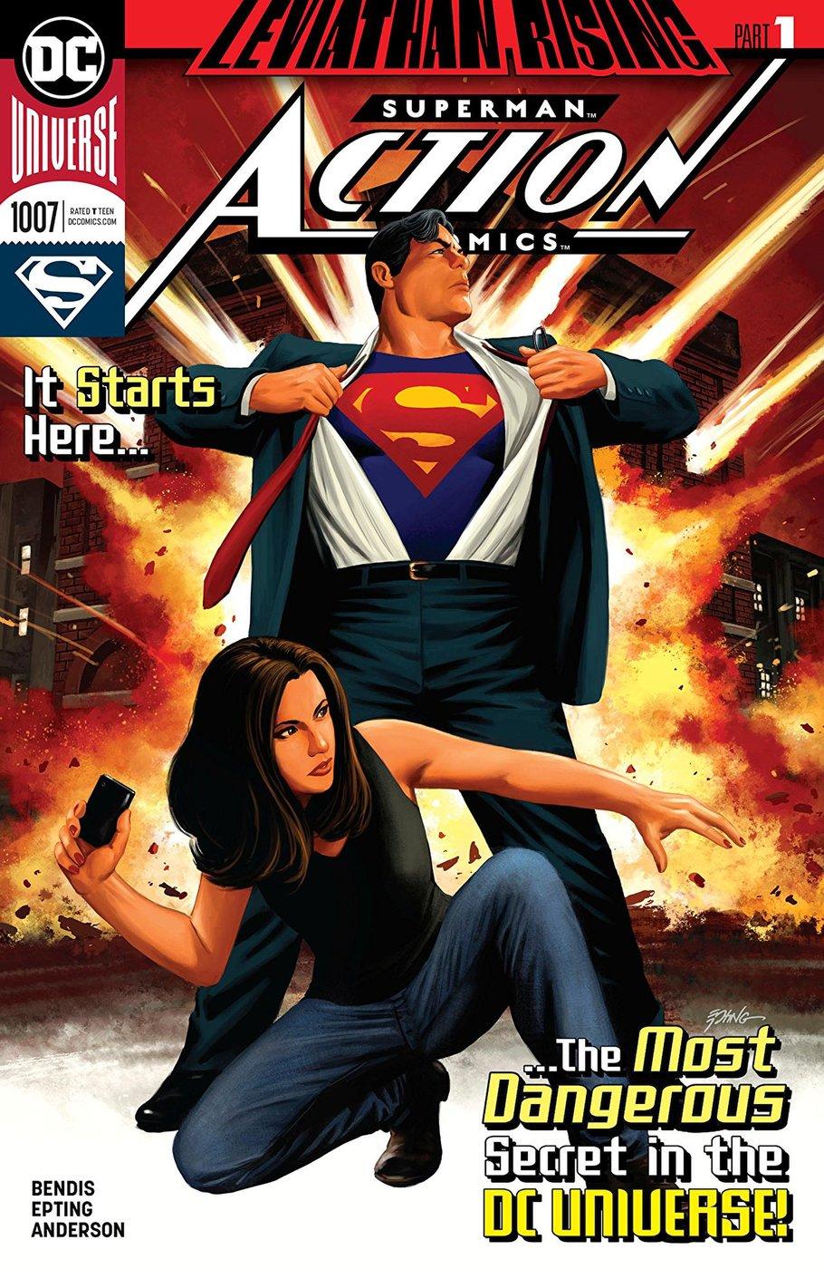 Action Comics #1007, copertina di Steve Epting