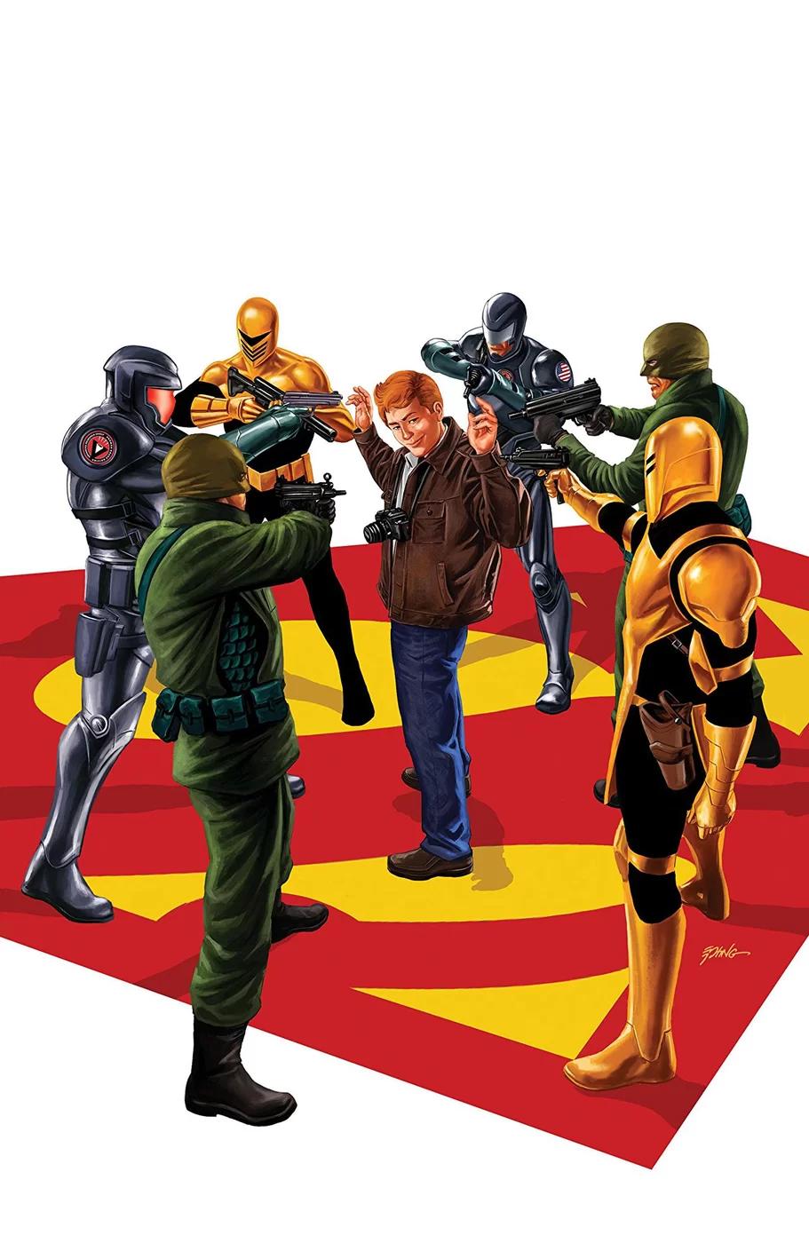 Action Comics #1008, copertina di Steve Epting