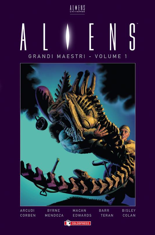 Aliens - Grandi Maestri vol. 1, copertina di Richard Corben