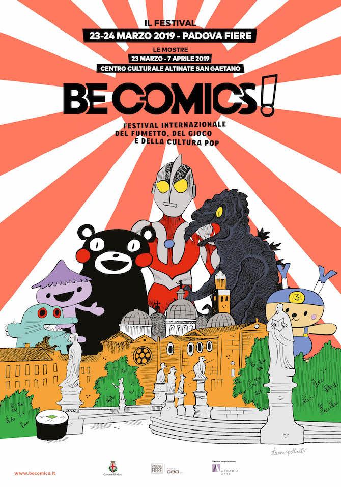 Be Comics 2019, locandina di Tuono Pettinato