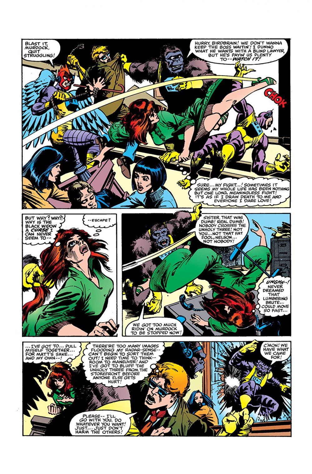 Daredevil #158, anteprima 01