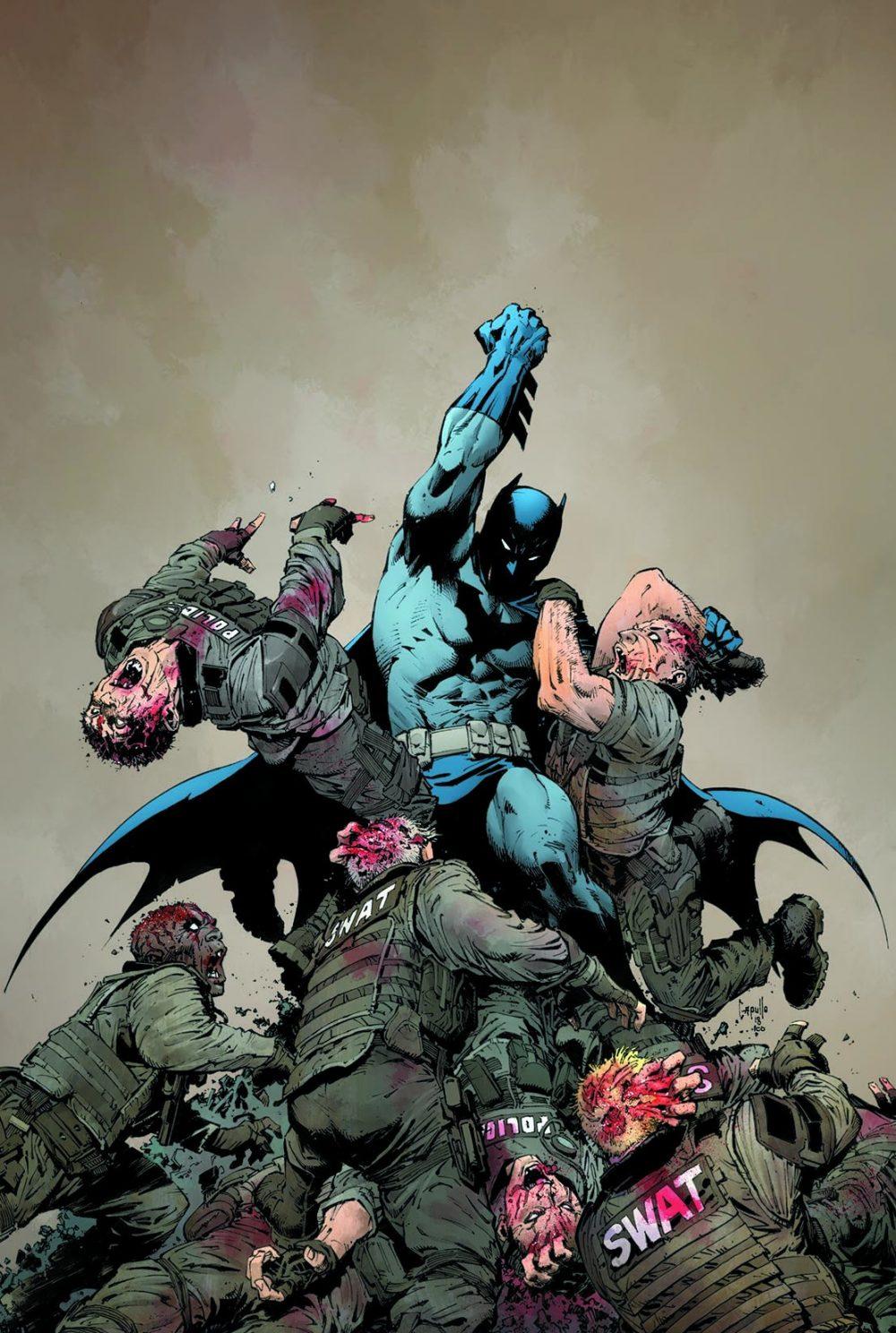 DCeased #1, copertina di Greg Capullo