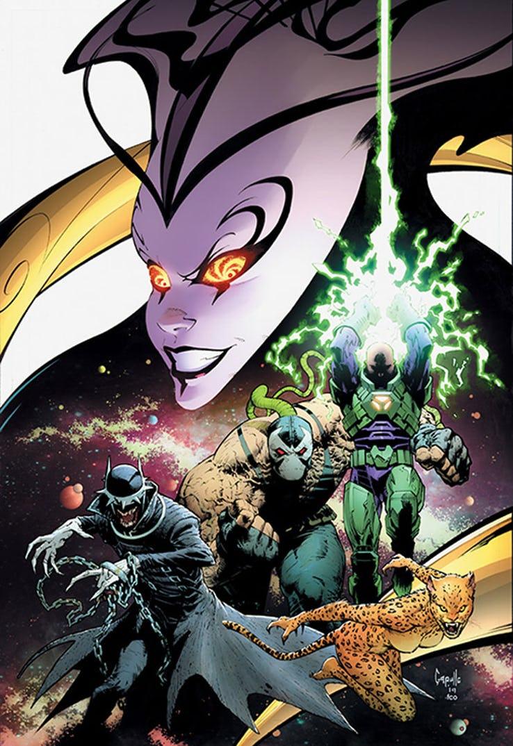 DC's Year of the Villains, copertina di Greg Capullo