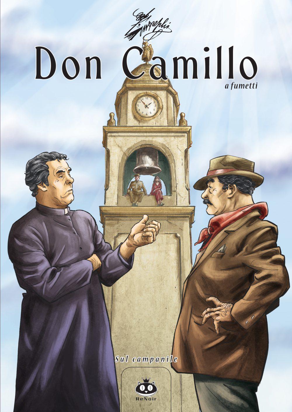 Don Camillo a fumetti vol. 17: Sul campanile