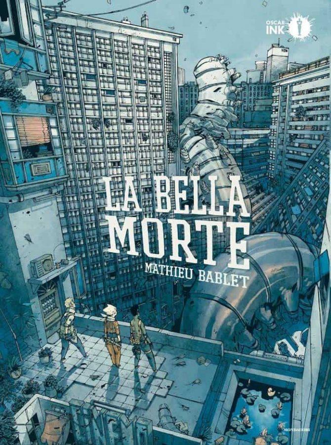 La bella morte, copertina di Mathieu Bablet