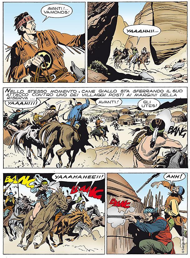 Tex: Gli eroi di Devil Pass, anteprima 01