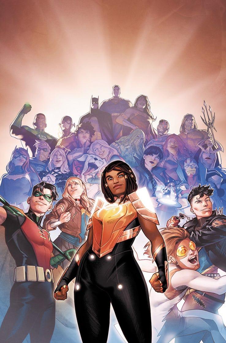 Naomi #6, copertina di Jamal Campbell