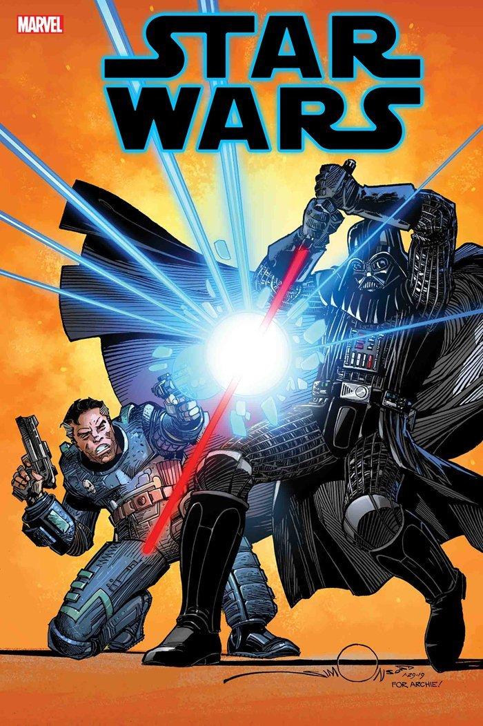 Star Wars #108 One-Shot, copertina di Walter Simonson