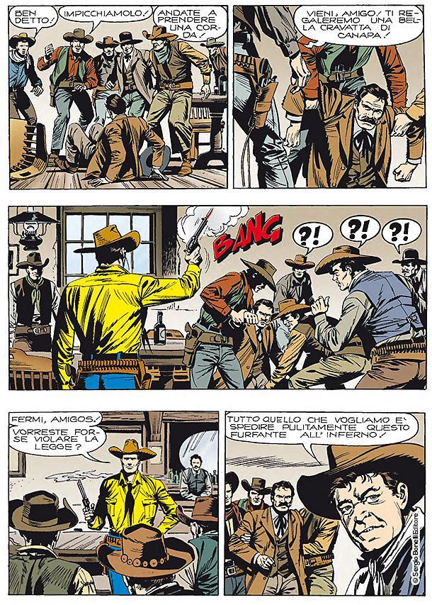 Tex: Il massacro di Goldena, anteprima 01