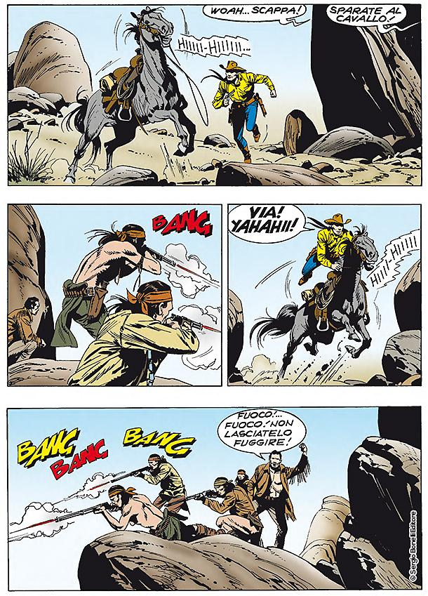 Tex: Il massacro di Goldena, anteprima 02