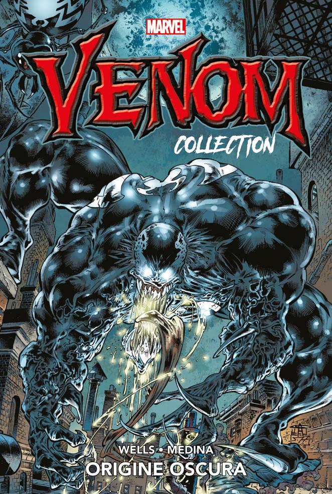 Venom Collection vol. 1: Origine oscura, copertina di Angel Medina