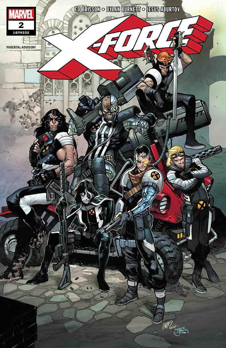 X-Force #2, copertina di Pepe Larraz