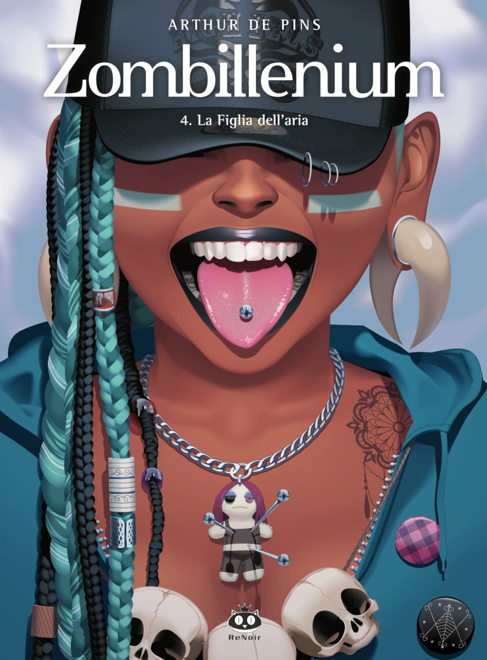 Zombillenium vol. 4: La figlia dell'aria, copertina di Arthur de Pins