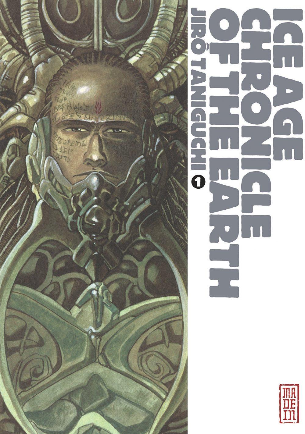 Ice Age Chronicles of the Earth 1, copertina di Jiro Taniguchi