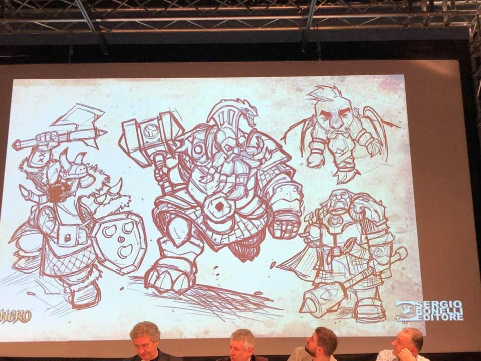 Cartoomics 2019: la conferenza di Dragonero