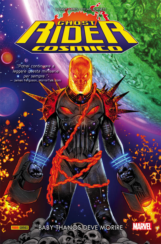 Ghost Rider Cosmico: Baby Thanos deve morire, copertina di Geoff Shaw
