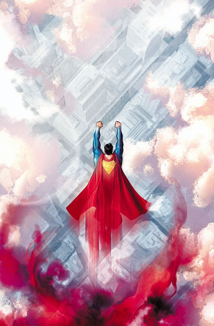 Action Comics #1012, copertina di Jamal Campbell