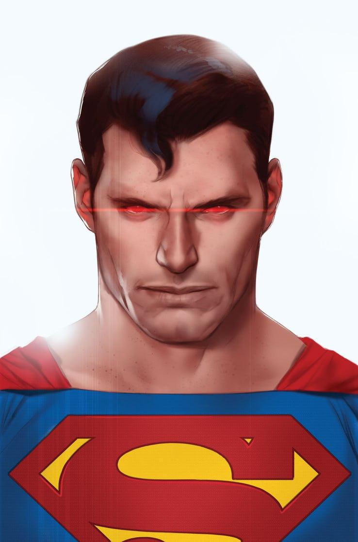 Action Comics #1012, variant cover di Ben Oliver
