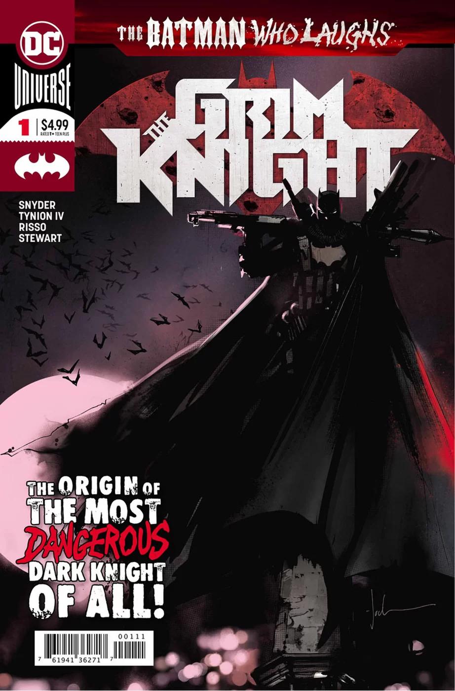 Grim Knight, copertina di Jock