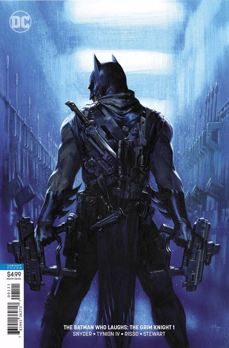 Grim Knight, variant cover di Gabriele Dell'Otto