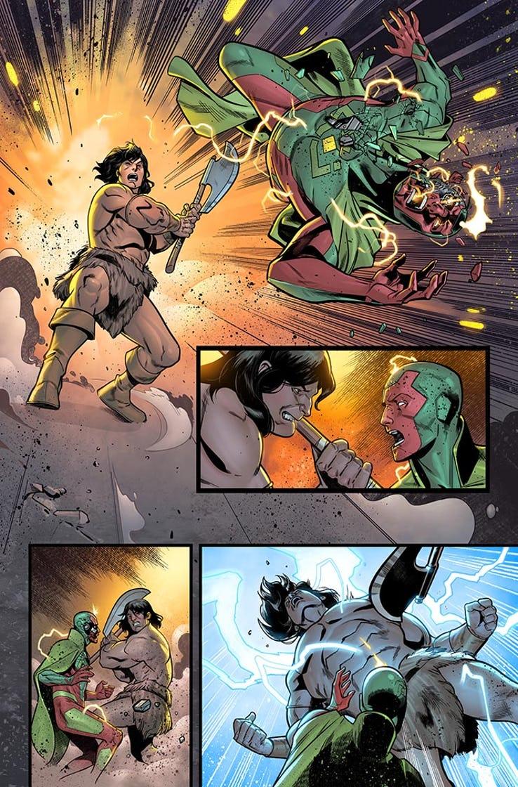 Avengers: No Road Home #5, anteprima 01
