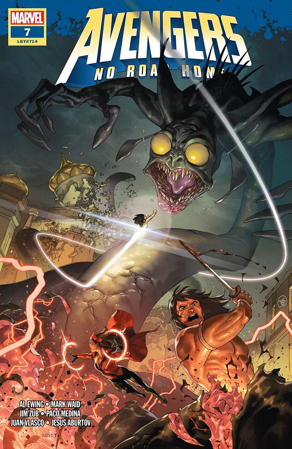 Avengers: No Road Home #7, copertina di Yasmine Putri