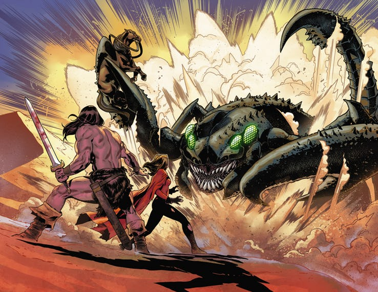 Avengers: No Road Home #5, anteprima 03