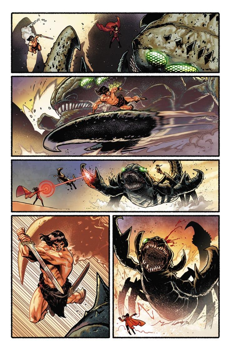 Avengers: No Road Home #5, anteprima 02