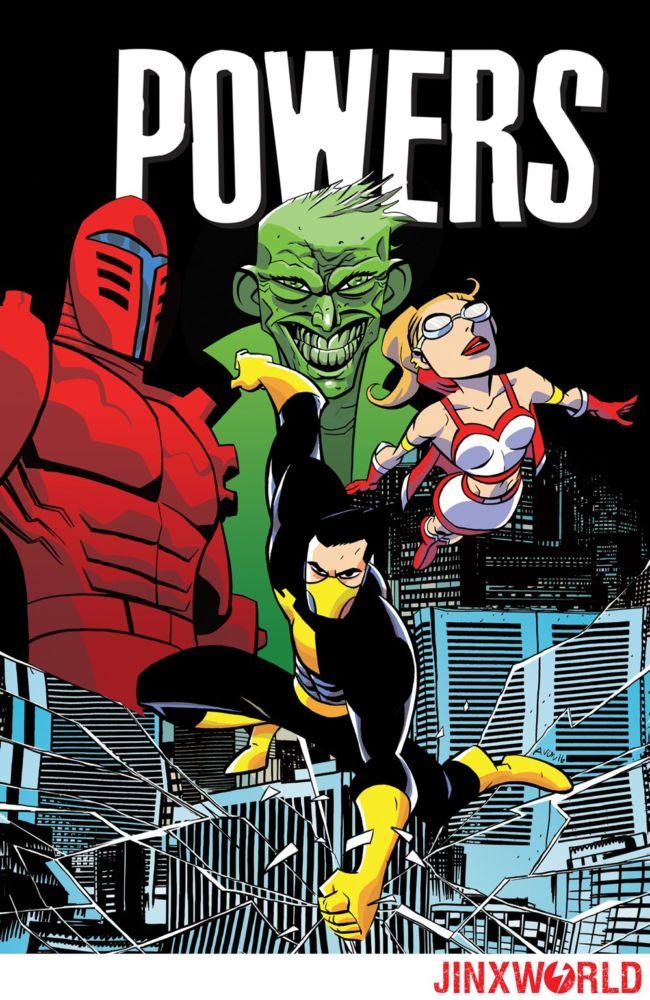 Powers, copertina di Michael Avon Oeming
